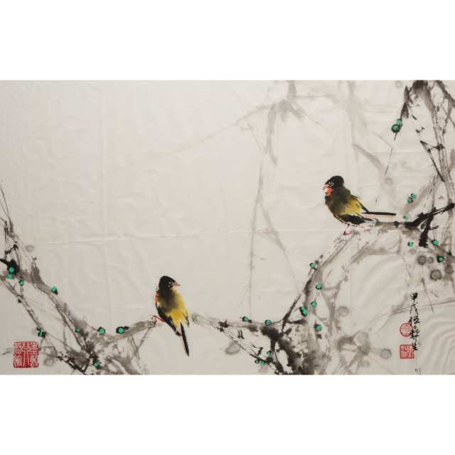 Wu Yisheng (1929-2009), Two Paintings