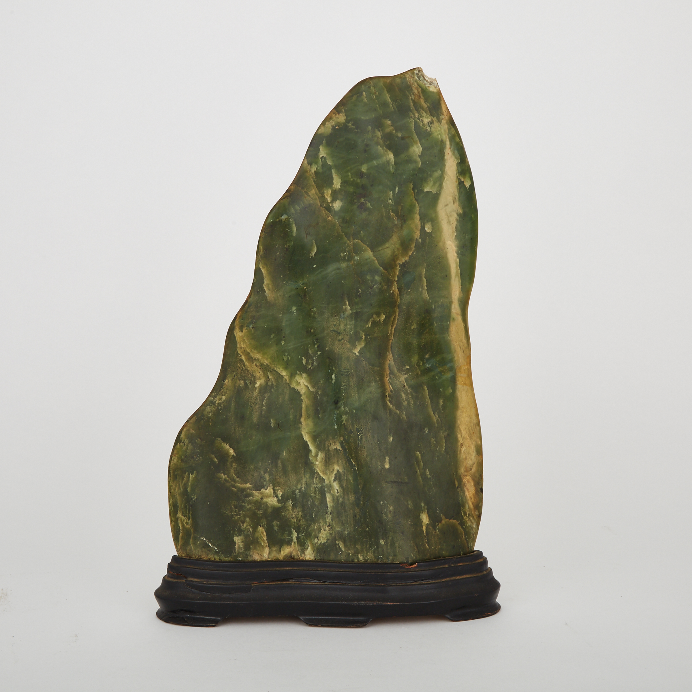 A Large Green and Yellow Hardstone