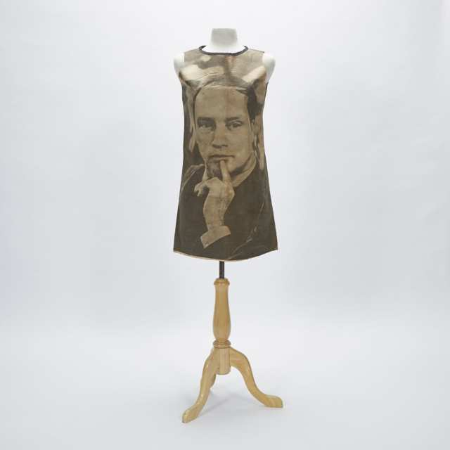 Pierre Elliot Trudeau Paper Campaign Dress, 1968