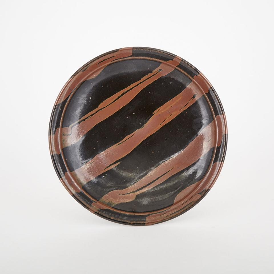 A Brown and Black Striped Charger, Hida Takayama