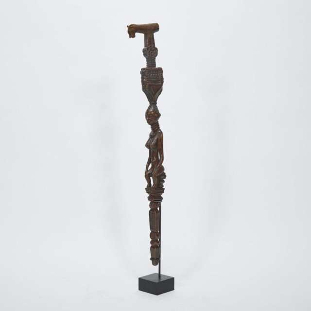 Baule Walking Stick, Ivory Coast, West Africa