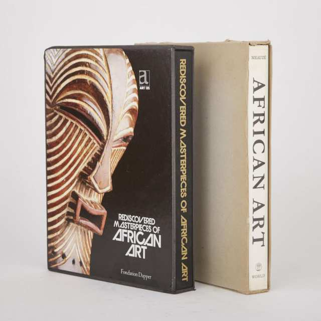 Two Books: Rediscovered Masterpieces of African Art by Gérald Berjonneau, Jean-Louis Sonnery and Fondation Dapper; African Art by Pierre Mesuzé