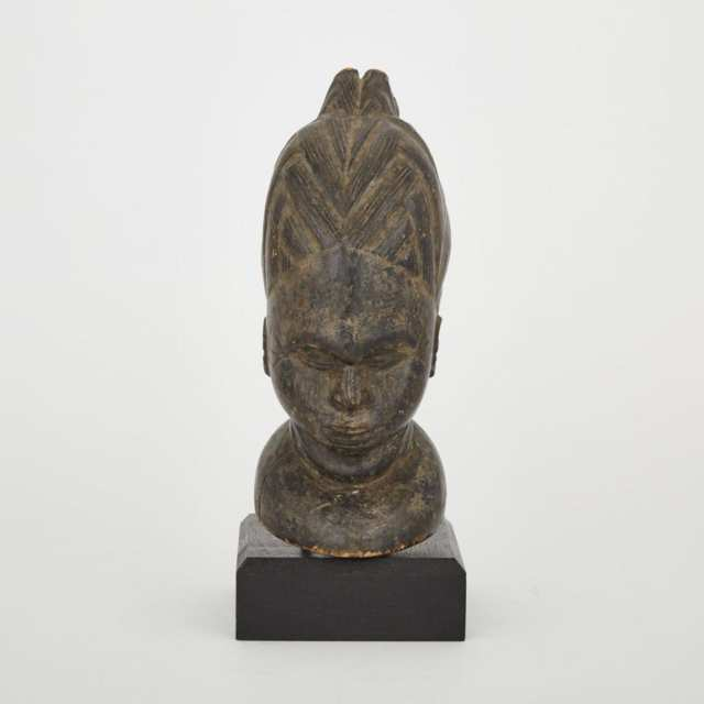 Unidentified Female Bust, possibly Yoruba, West Africa