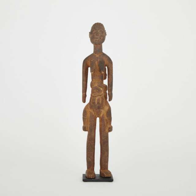Unidentified Maternity Figure, possibly Igbo, West Africa