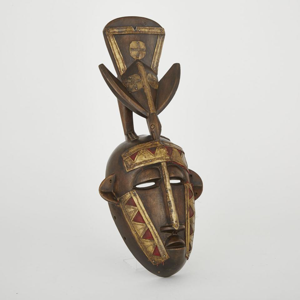 Unidentified Mask, possibly Marka, Mail, West Africa