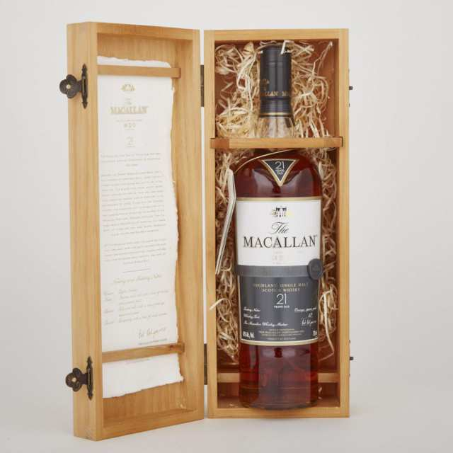 MACALLAN HIGHLAND SINGLE MALT SCOTCH WHISKY  (1)