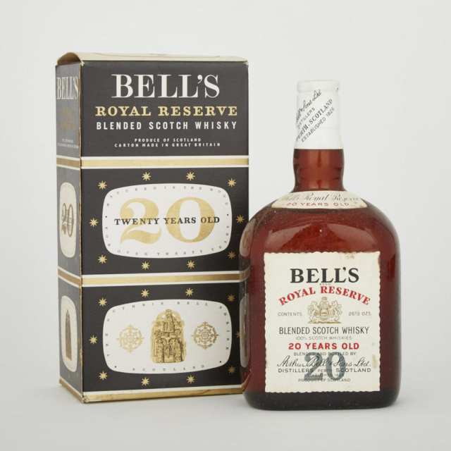 BELL'S ROYAL RESERVE BLENDED SCOTCH WHISKY  (1)