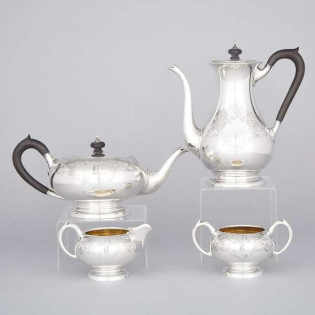 Canadian Silver Tea and Coffee Service, Henry Birks & Sons, Montreal, Que., 1947