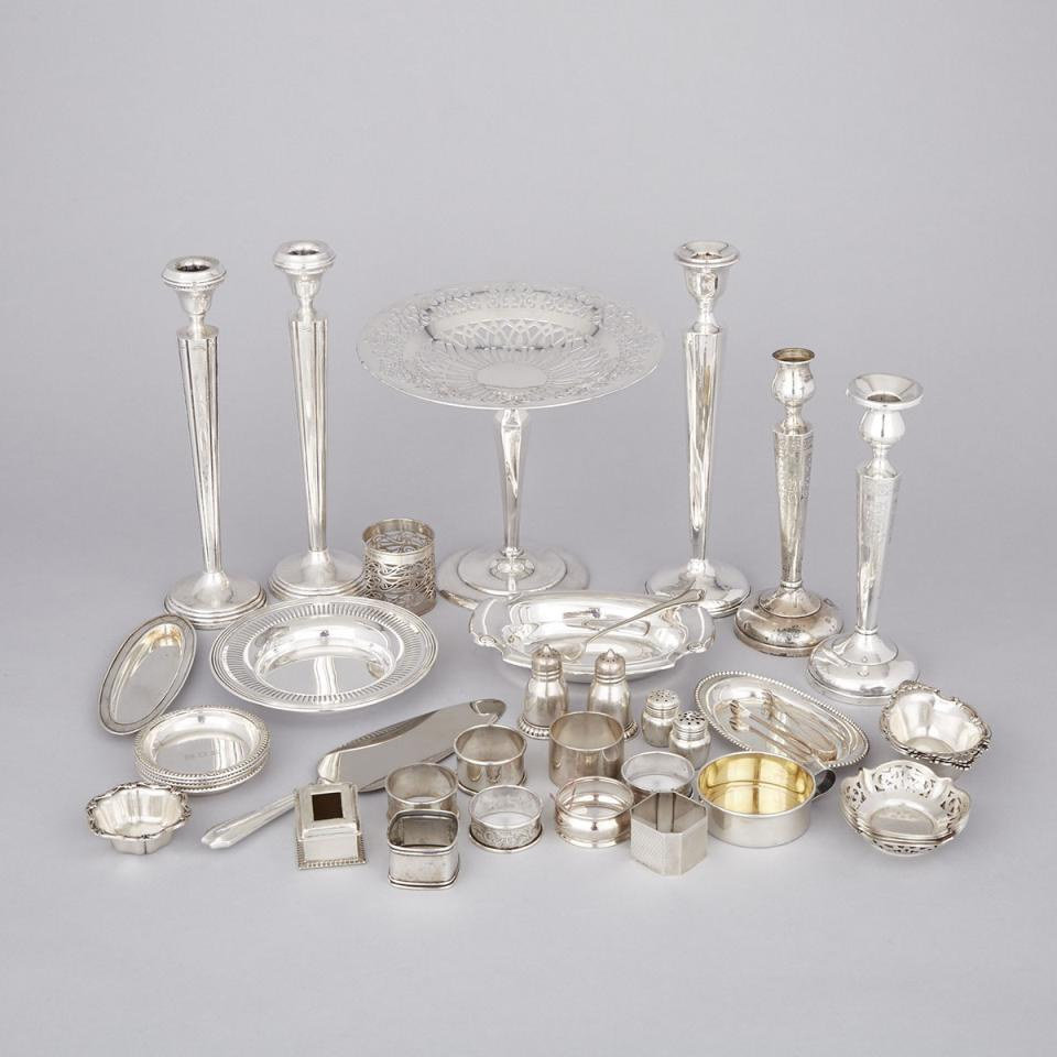 Group of North American and English Silver, 20th century