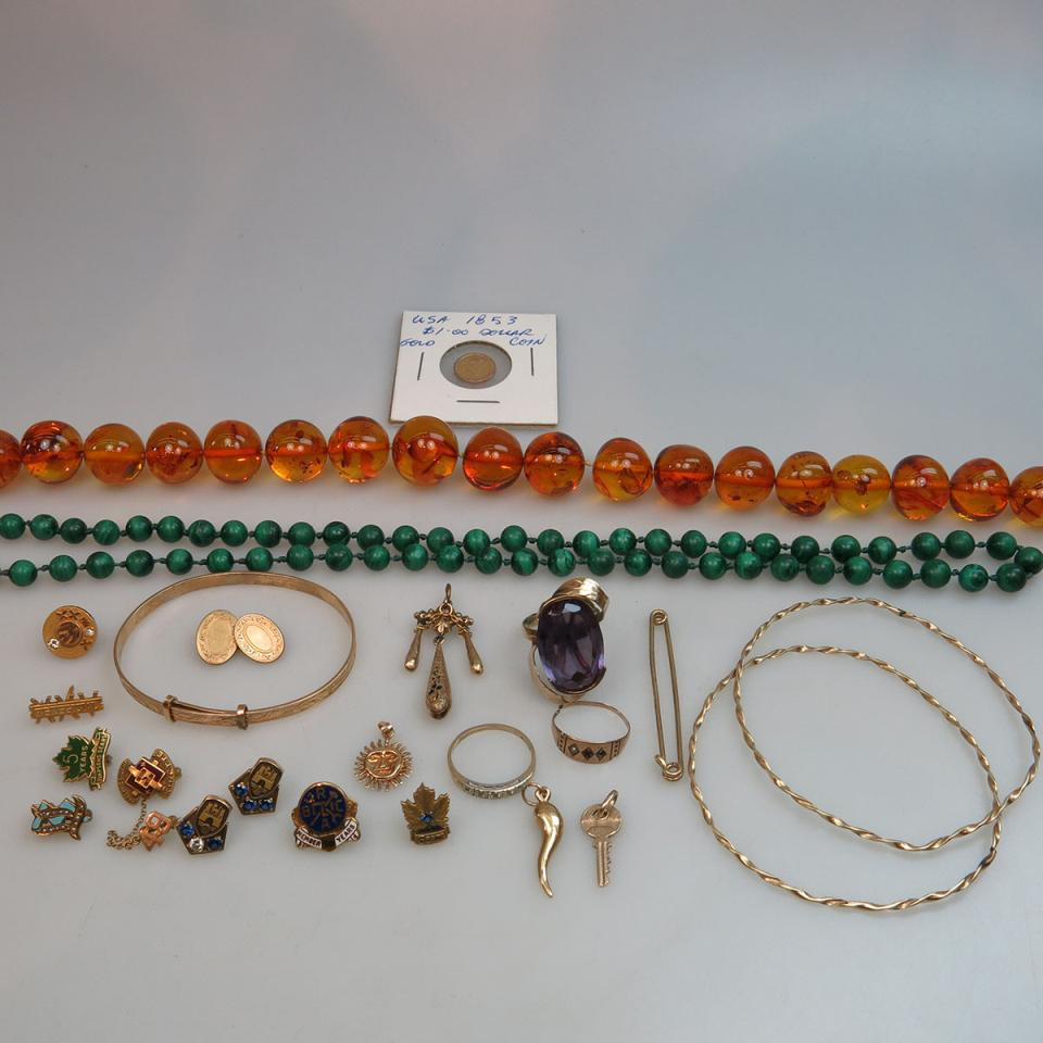 Small Quantity Of Various Jewellery