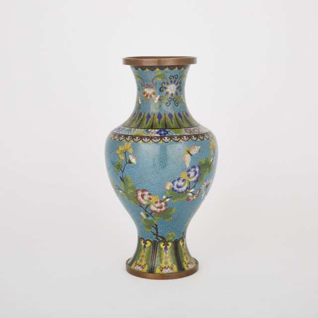 A Cloisonné Vase, Early 20th Century