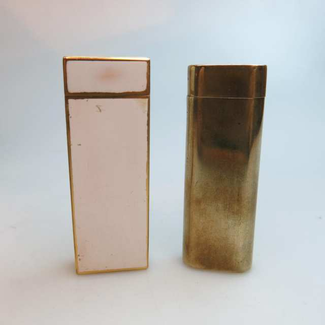 Two Cartier Lighters