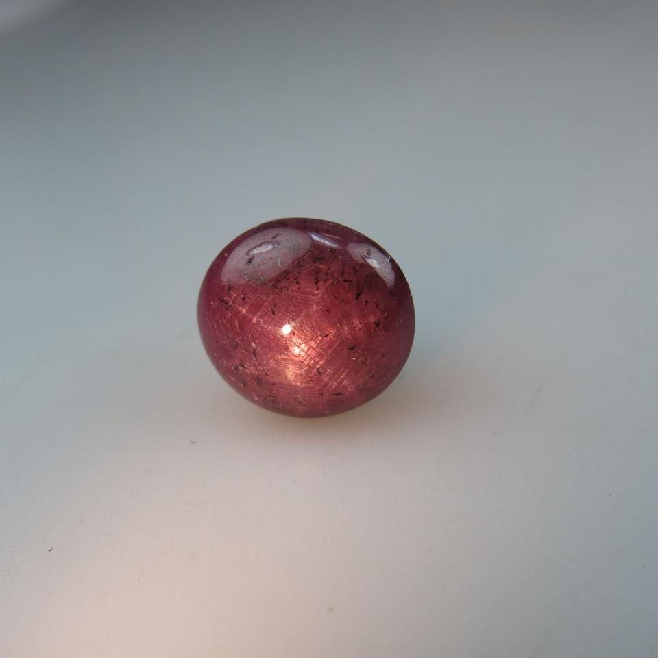 Round star ruby cabochon (26.57ct.)
