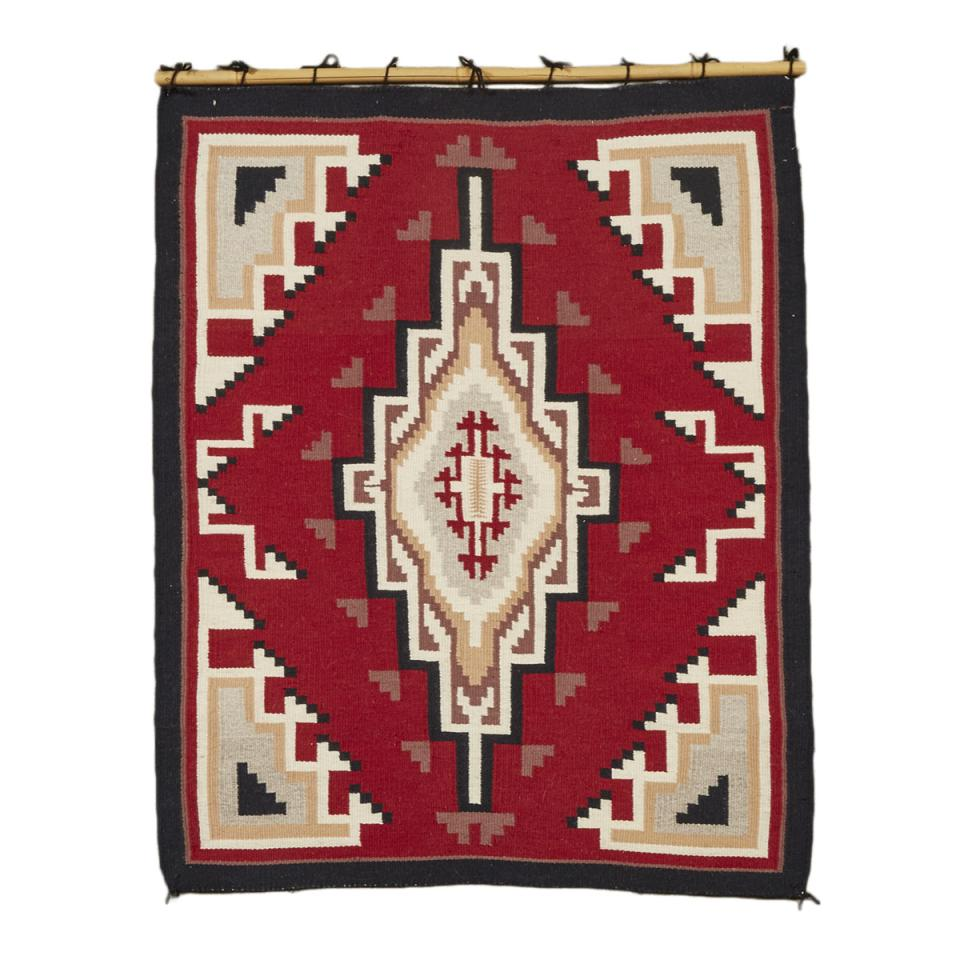 Ganado Navajo Rug by Mary White, mid 20th century