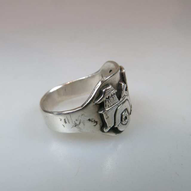 Clarence Lee Navajo sterling silver ring