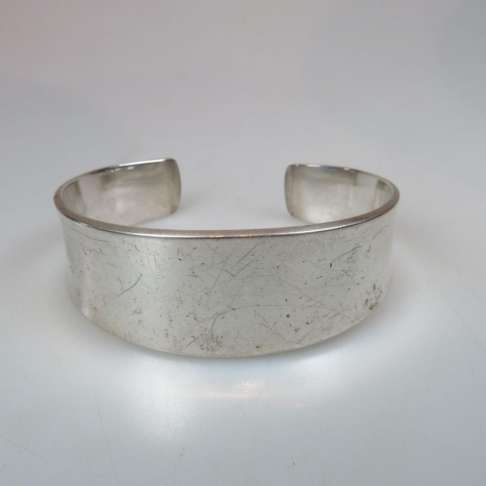 Georg Jensen Danish Sterling Silver Open Cuff Bangle