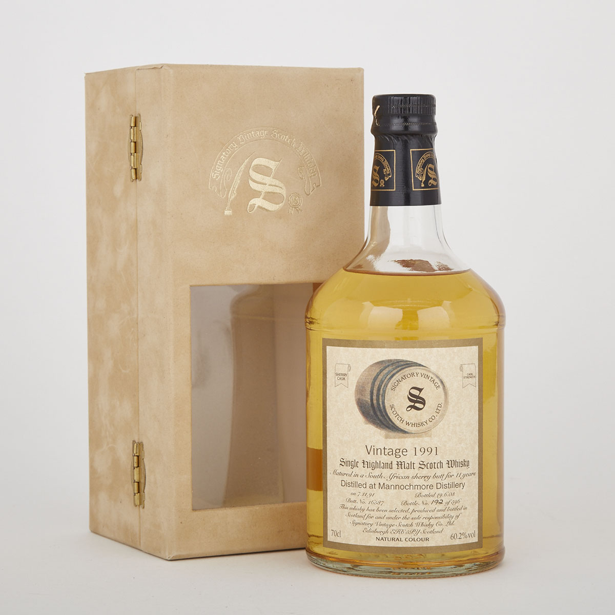 MANNOCHMORE SINGLE MALT SCOTCH WHISKY  (1 700 ML)