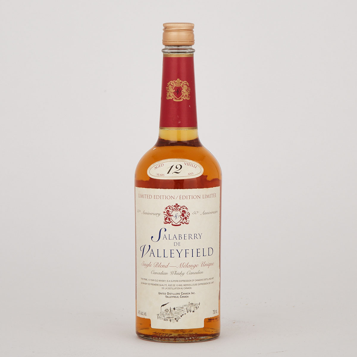 SALABERRY DE VALLEYFIELD SINGLE BLEND CANADIAN WHISKY  (1)