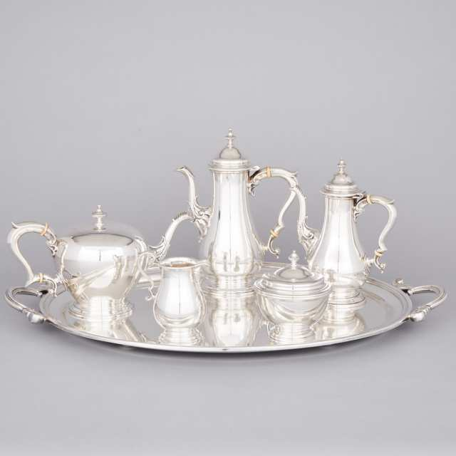 Canadian Silver Tea and Coffee Service, Henry Birks & Sons, Montreal, Que., 1958/59