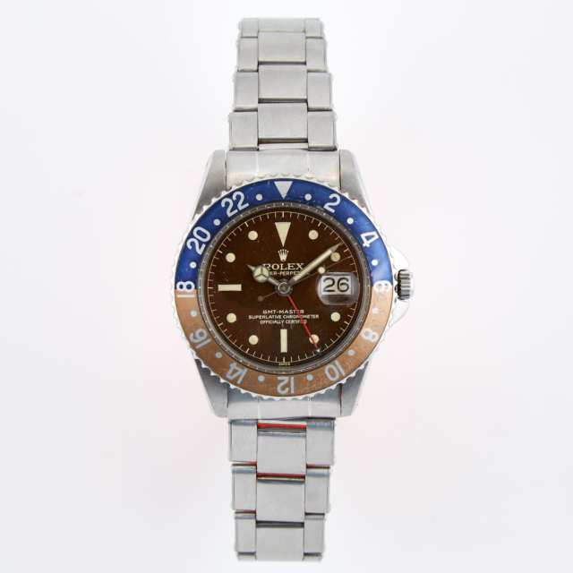 "Rolex Oyster Perpetual ""Pepsi"" GMT-Master Wristwatch"
