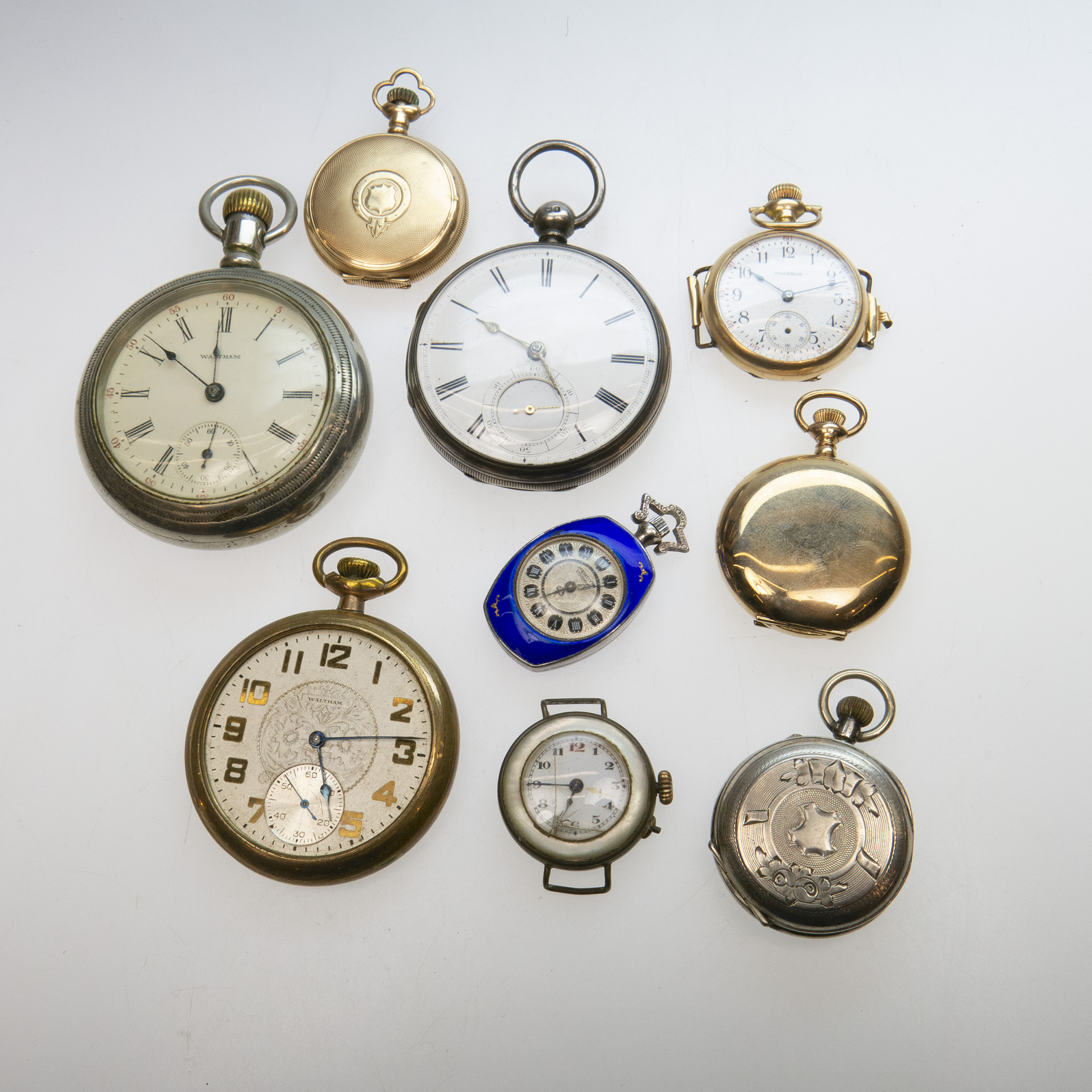 Small Quantity Of Various Pocket Watches, Etc