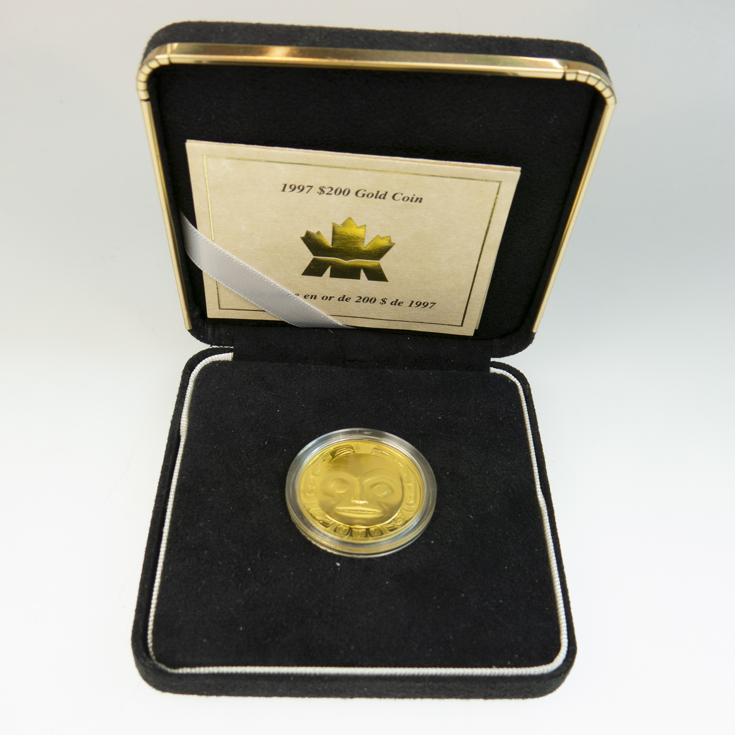 Canadian 2002 $200 Gold Coin