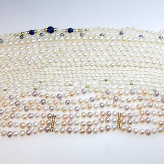 Quantity Of Various Pearls