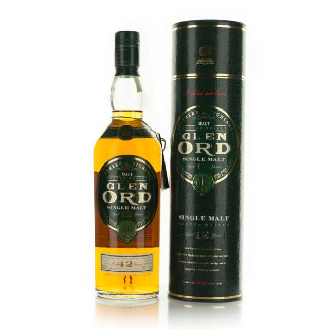 GLEN ORD SINGLE MALT SCOTCH WHISKY 12 YEARS (ONE 70 CL)