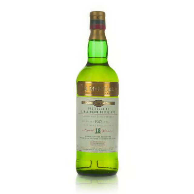 LINLITHGOW SINGLE MALT SCOTCH WHISKY 18 YEARS (ONE 750 ML)