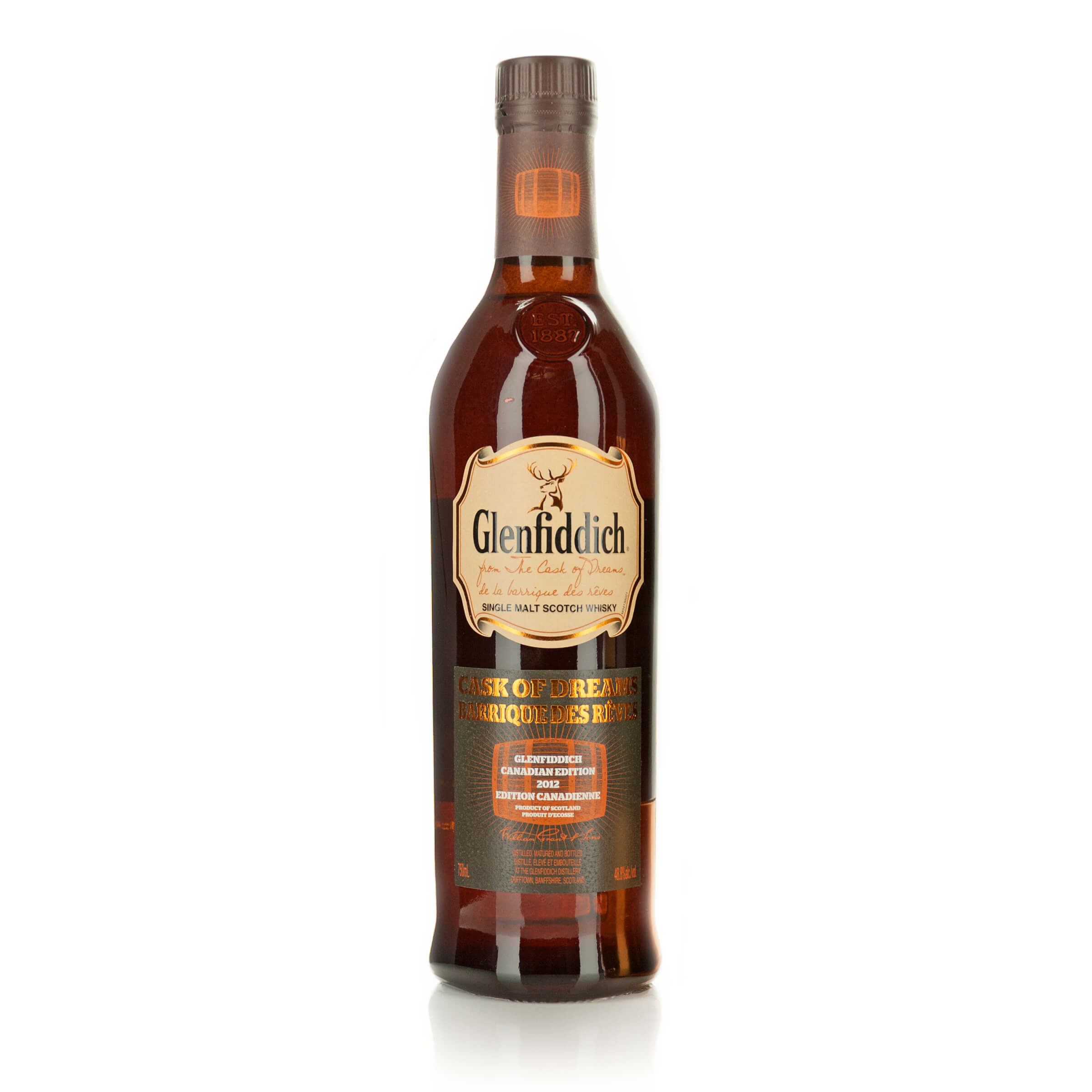 GLENFIDDICH SINGLE MALT SCOTCH WHISKY (NAS) (ONE 750 ML)