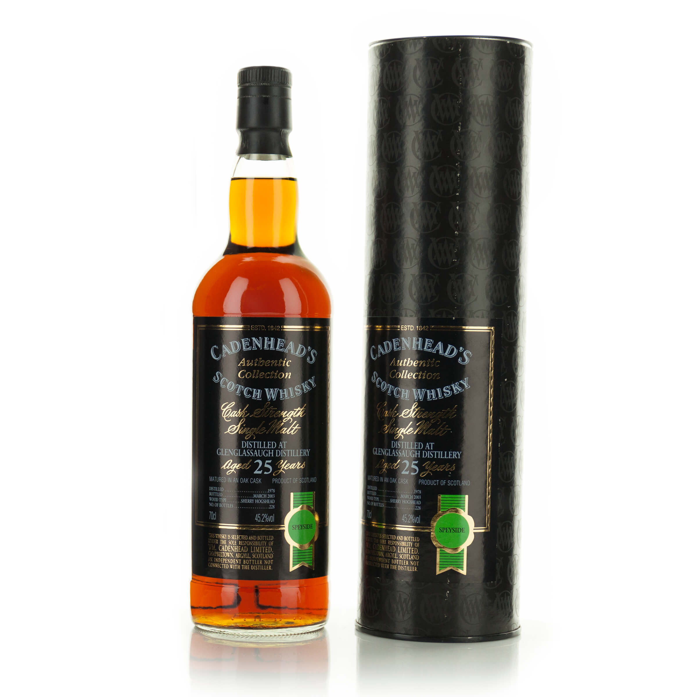 GLENGLASSAUGH SINGLE MALT SCOTCH WHISKY 25 YEARS (ONE 70 CL)