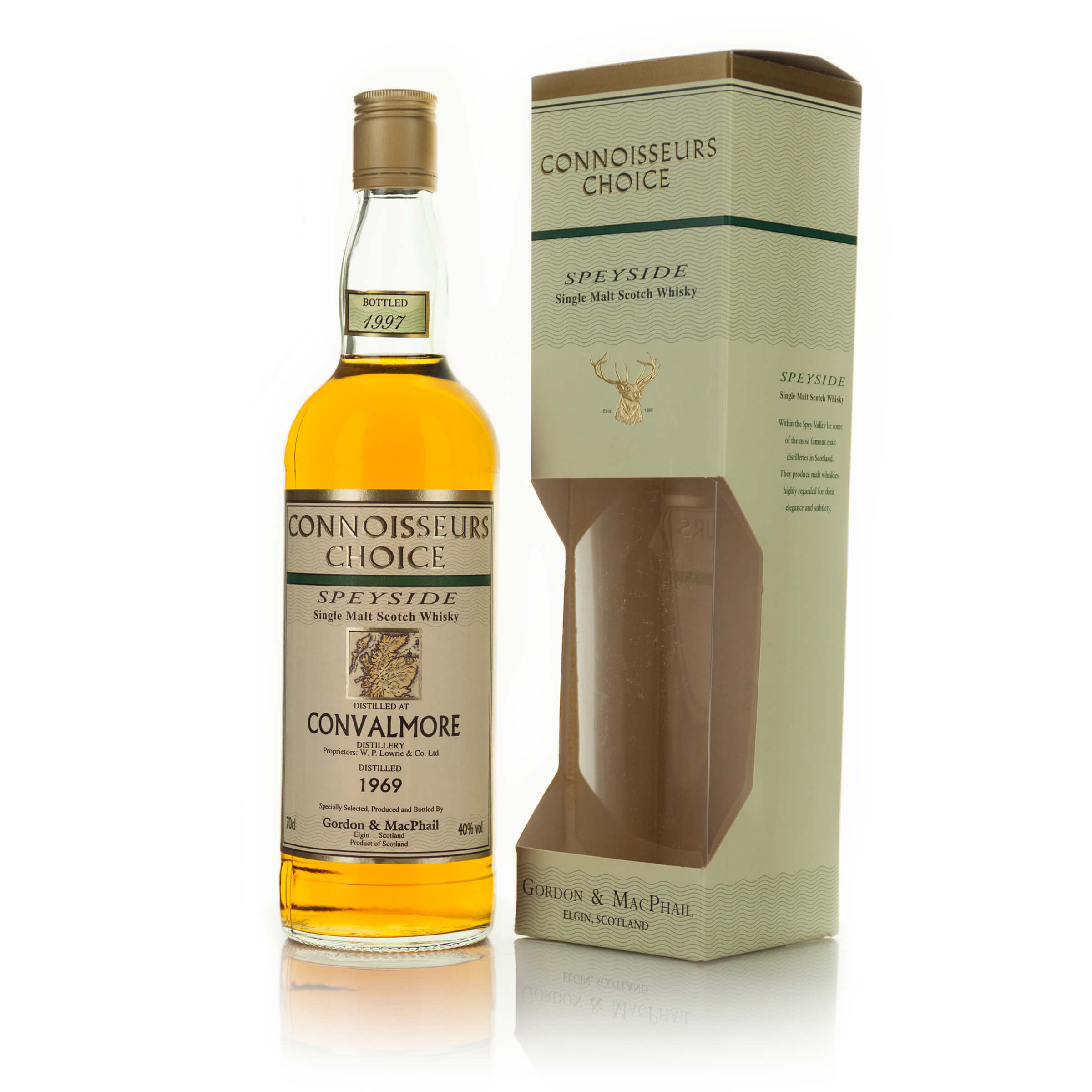 CONVALMORE SINGLE MALT SCOTCH WHISKY 28 YEARS (ONE 70 CL)