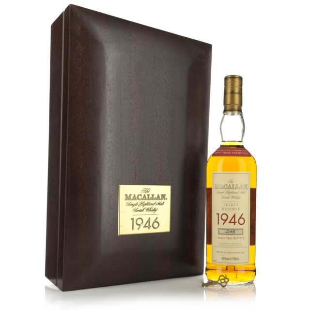 Macallan Single Highland Malt Scotch Whisky 52