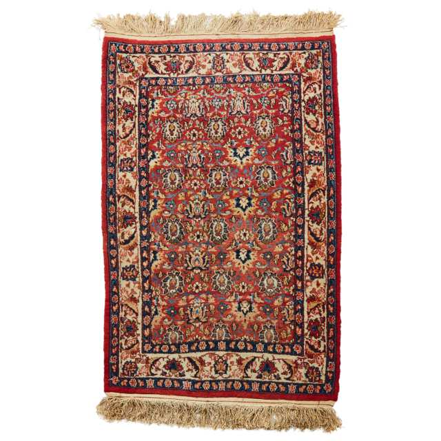 Qum Rug, Persian, mid 20th century