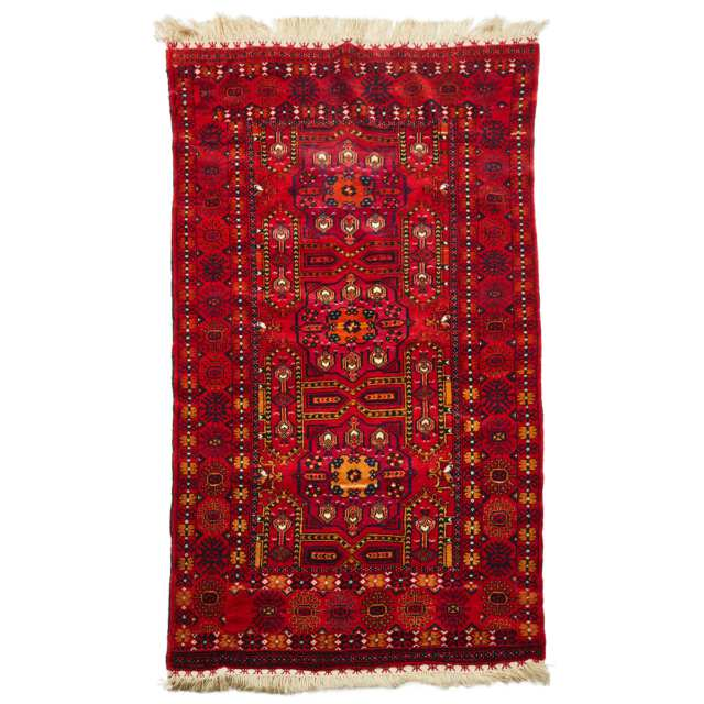 Afghan Rug, mid to late 20th century