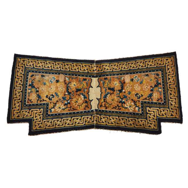 Chinese Ningxia Saddle Blanket, late 19th century