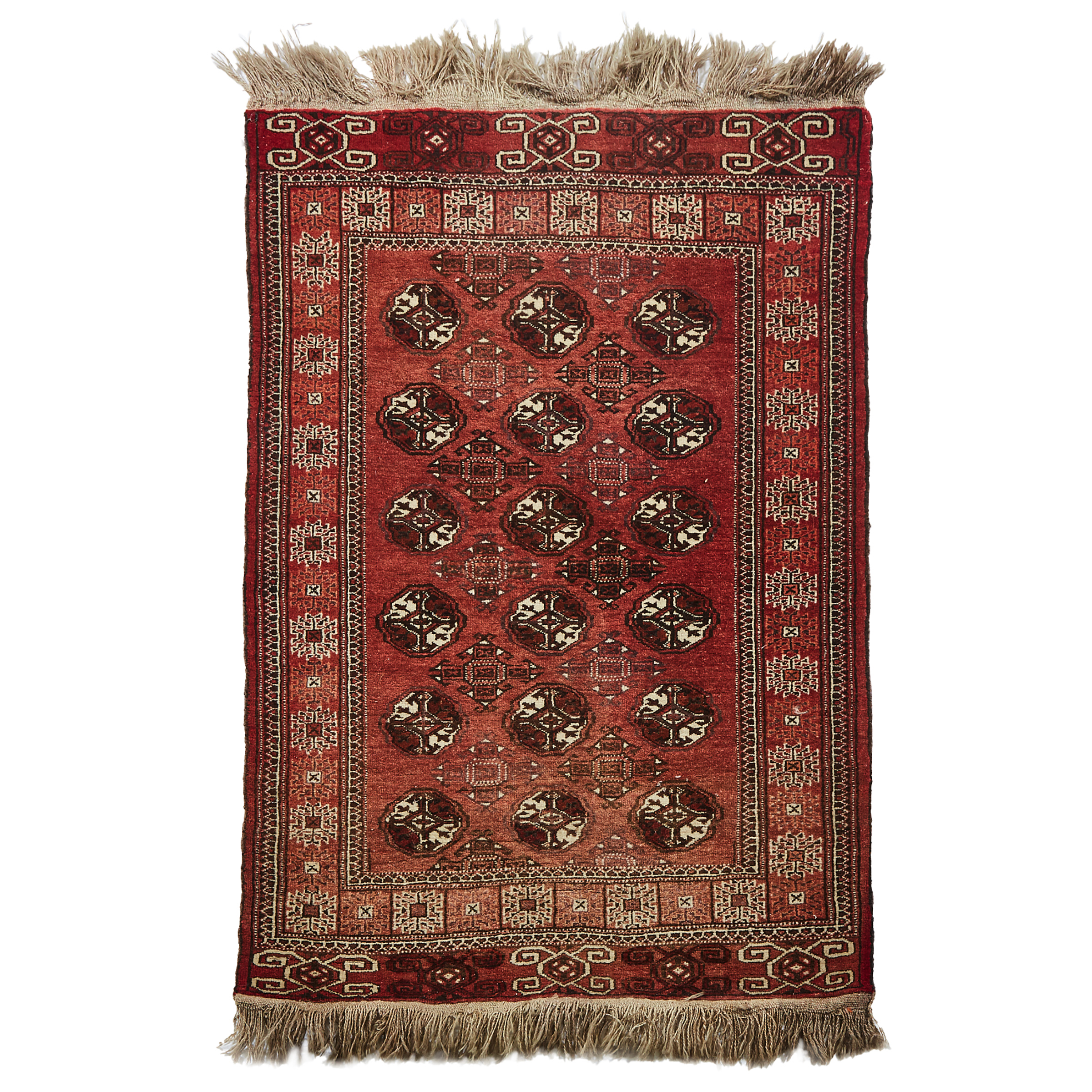 Turkoman Rug, Central Asia,  mid 20th century