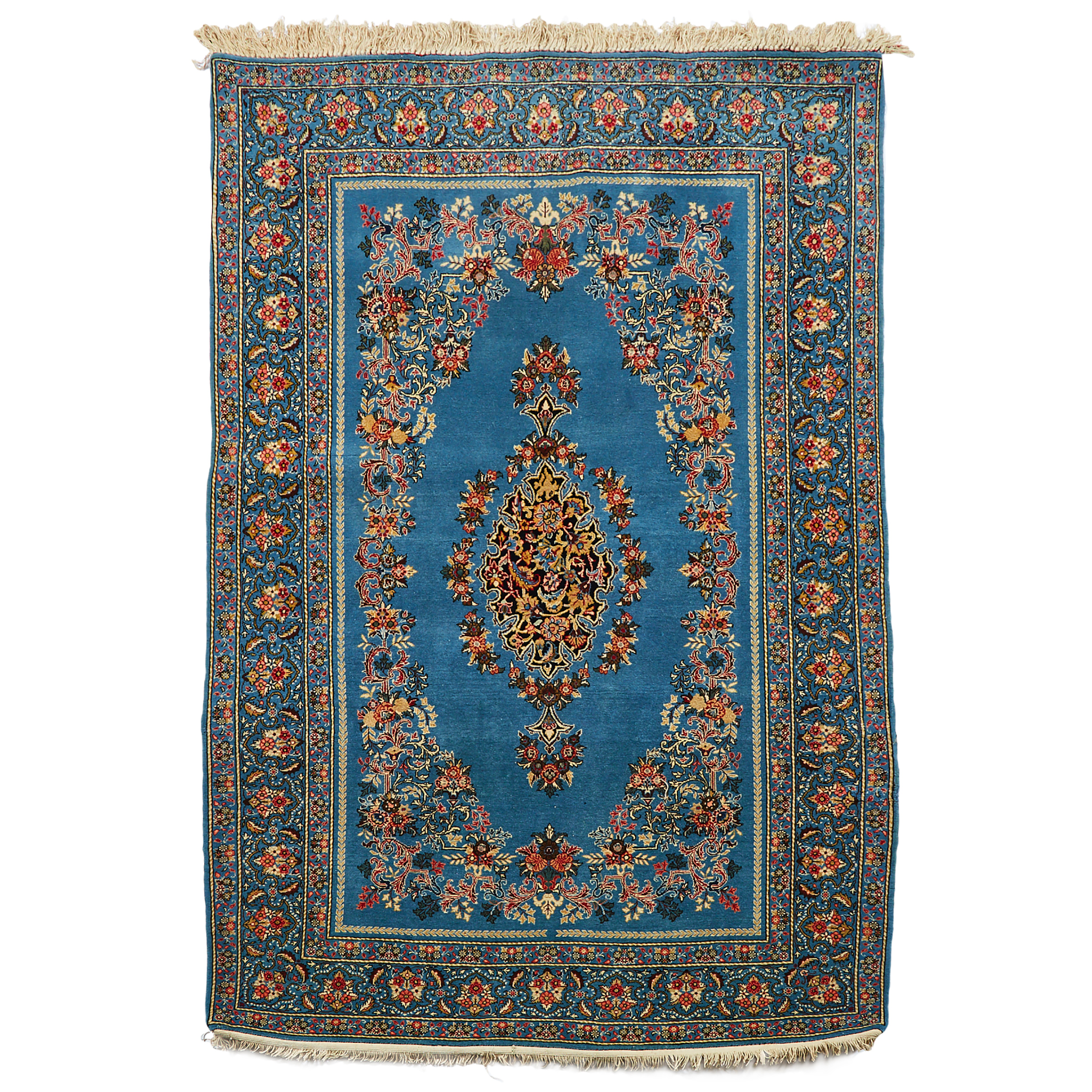 Kerman Rug, Persian, mid to late 20th century