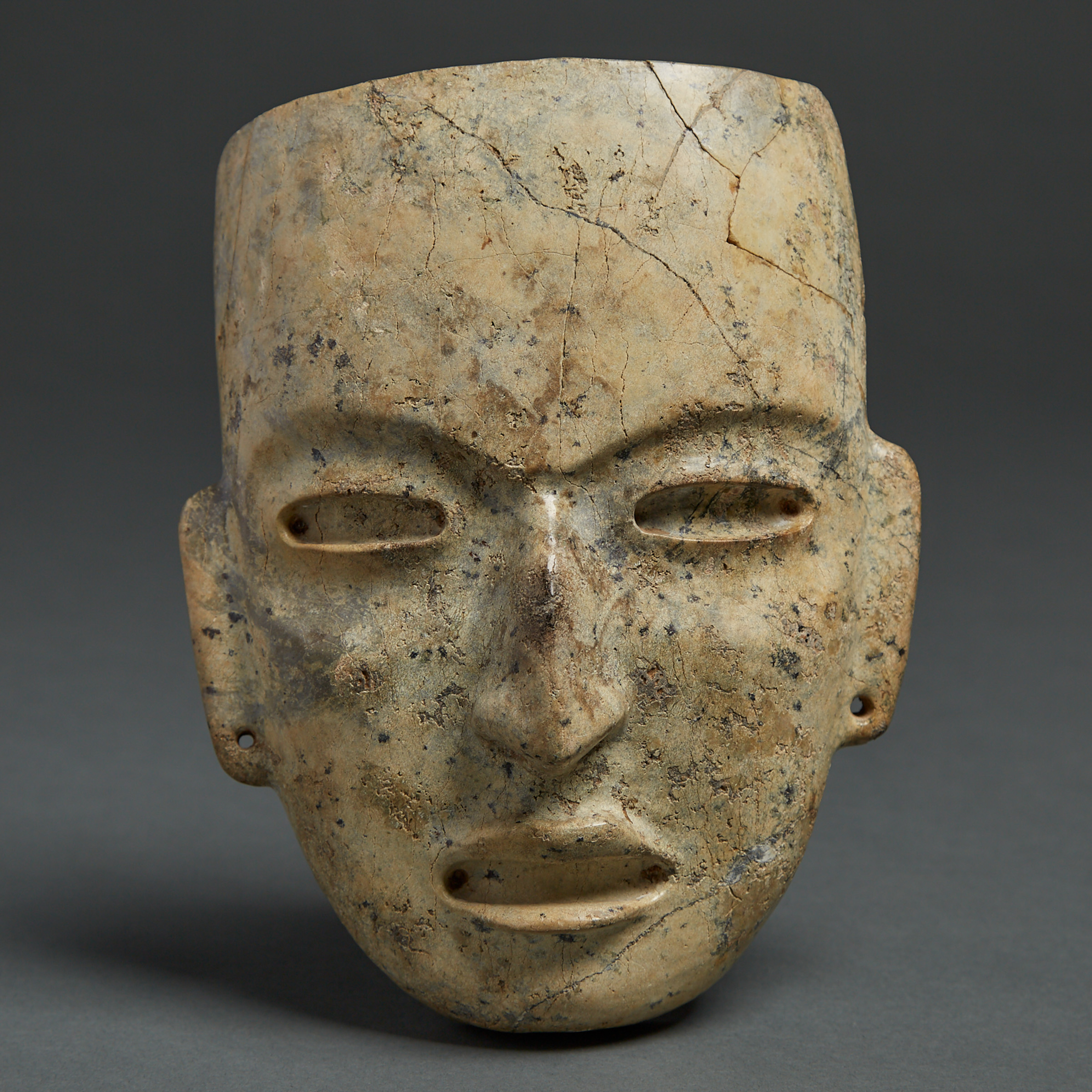 Teotihuacan Stone Mask, Valley of Mexico, Classic Period, 450-650 A.D.