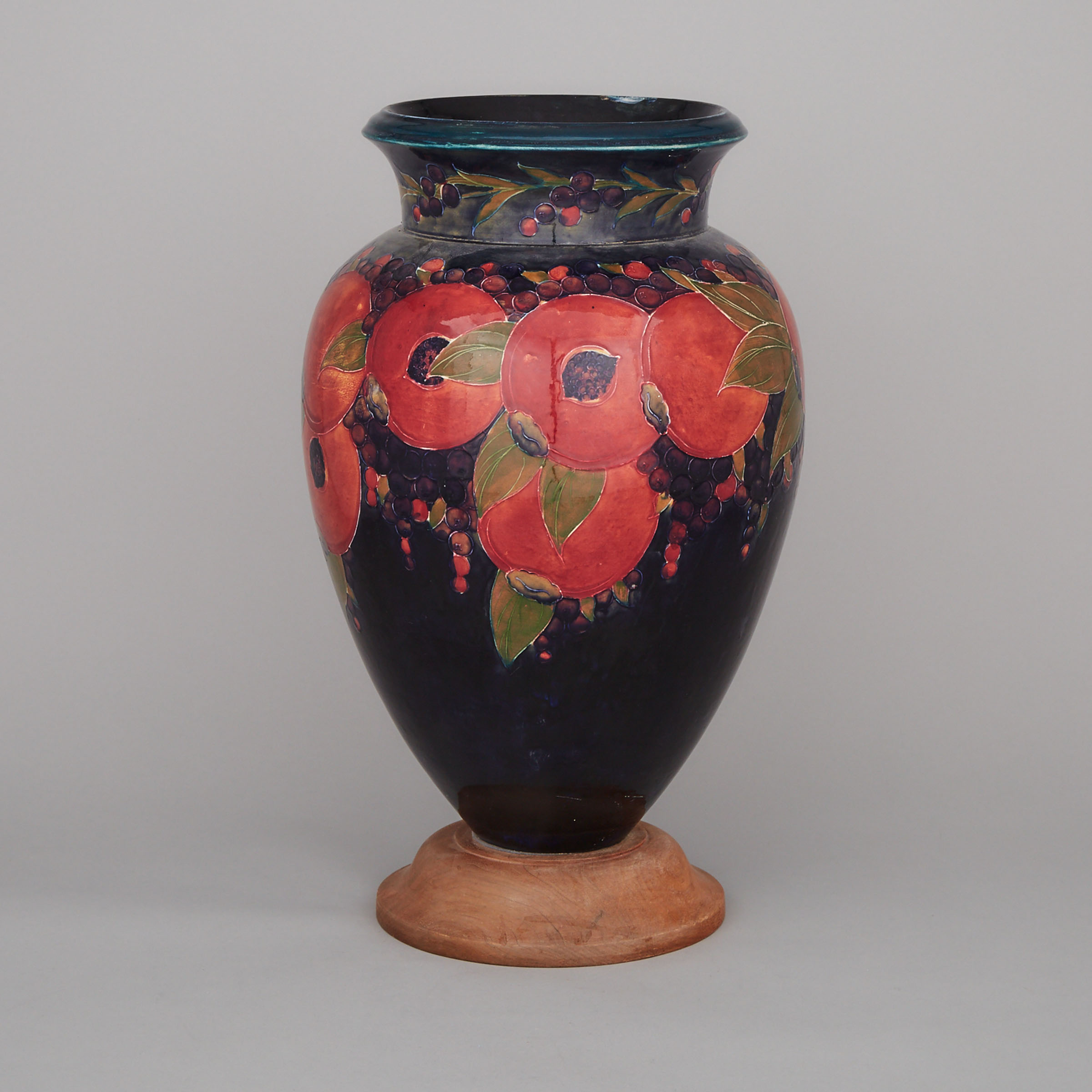 Large Moorcroft Pomegranate Vase, c.1930