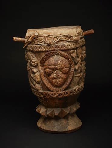 Ethnographic Arts & Artifacts Auction Highlight: Yoruba Ogboni Drum