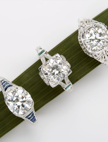 Thinking of Buying a Vintage Engagement Ring? Look No Further.