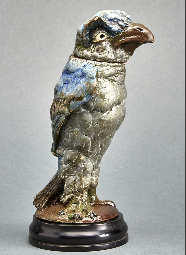 """""""Fantastic Martin Brothers Birds Soar"""" Reported by Antiques & The Arts Weekly"""