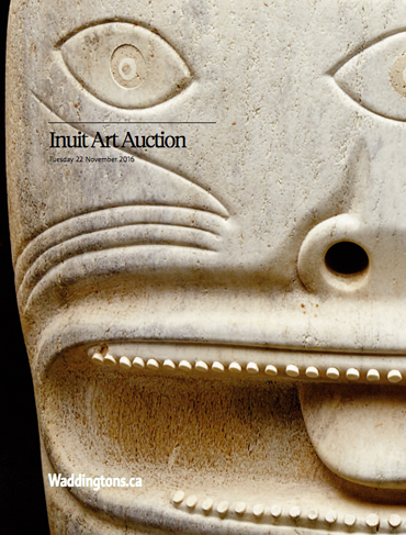 Inuit & First Nations Art Auction Fall 2016 Includes Record for Karoo Ashevak