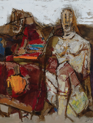 Maqbool Fida Husain: Style and Influences