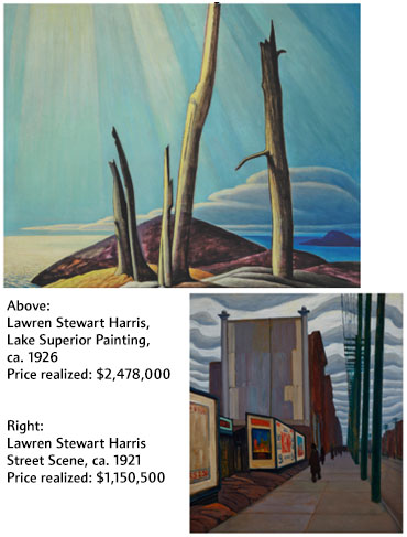 Waddington's Hammers Down Two Major Canvases by Lawren Harris