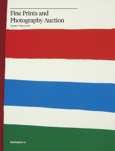 Spring 2014 Fine Prints & Photography Auction
