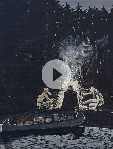 Spotlight on Kurelek's Huronia Paintings – Video Peek