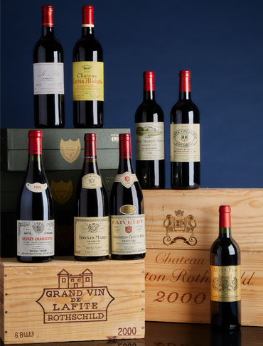 Bid on Some of the Greatest Wines in the World and Enjoy a Spectacular Luncheon