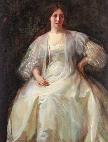 Discovering the True Identity of 'Lady in White'